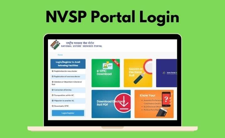 NVSP Portal Login